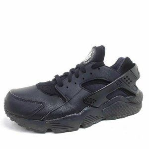 Nike ID Mens 9.5 Air Huarache Run Sneakers Black